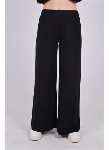 iandb Bol Paçalı Pantolon Felıx Siyah